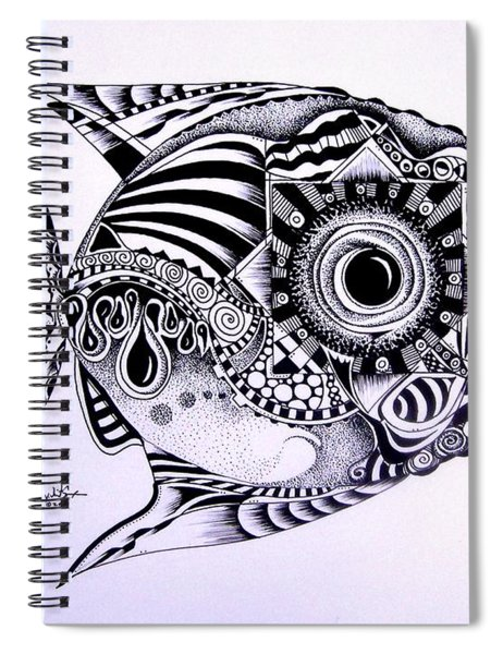 Incomplete Anger Spiral Notebook