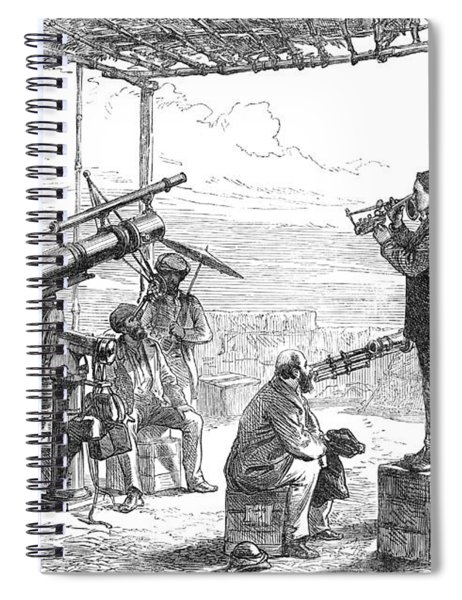 India Eclipse Expedition, 1872 Spiral Notebook