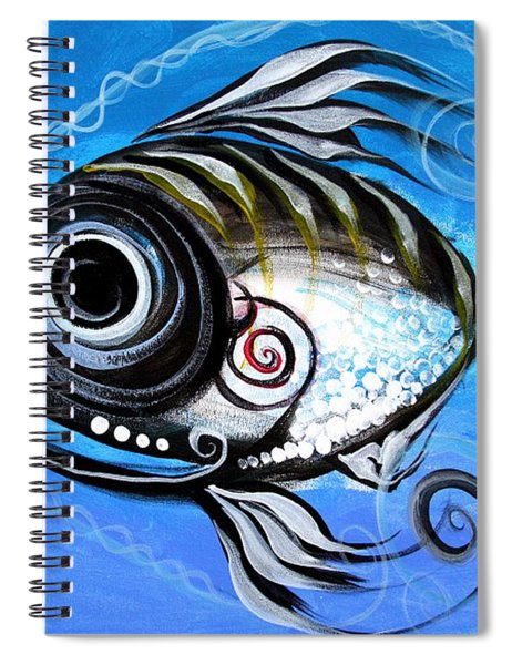 Industrial Goddess Spiral Notebook