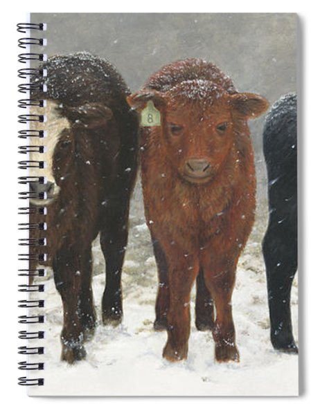 Inquisitive Calves Spiral Notebook