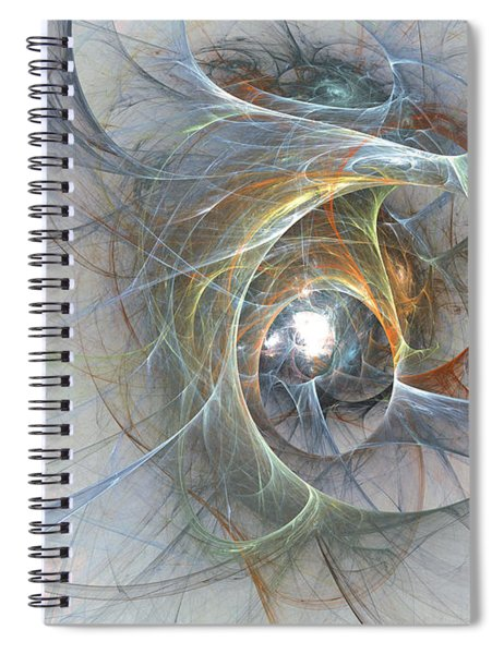 Interwoven Spiral Notebook