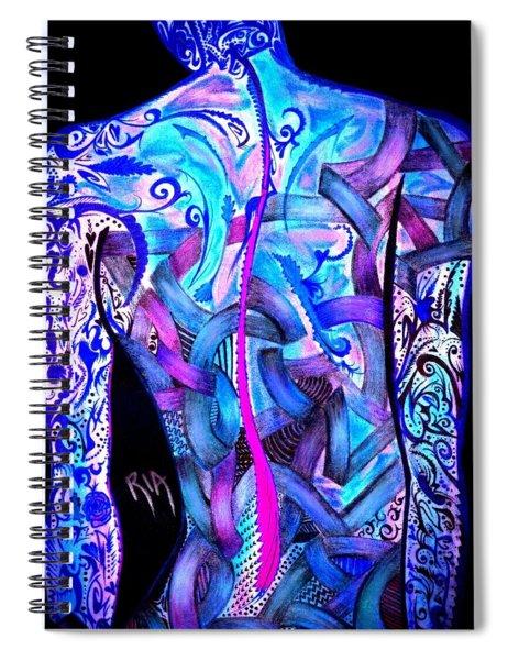 Intricate Woman Spiral Notebook