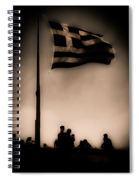 Athens, Greece - Invading Hoards Spiral Notebook