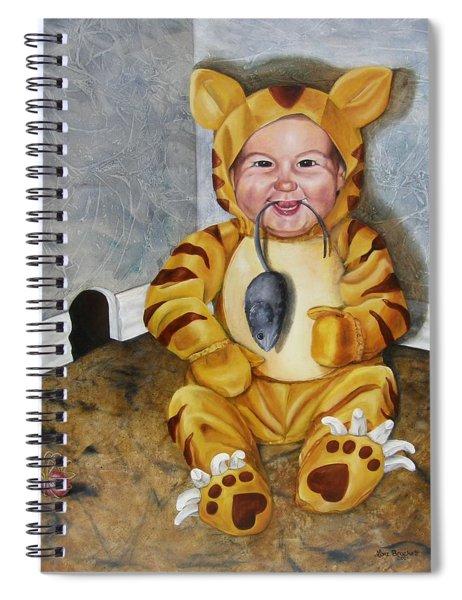 James-a-cat Spiral Notebook