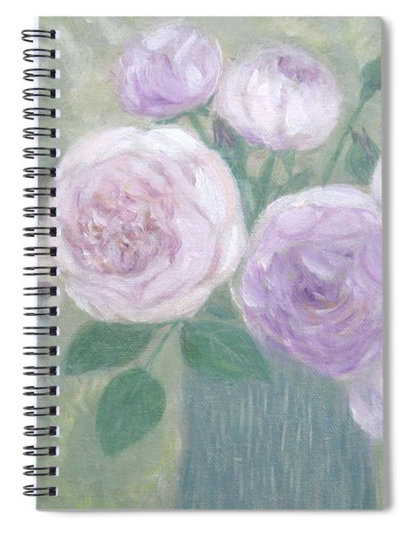 Jill And Roses Spiral Notebook