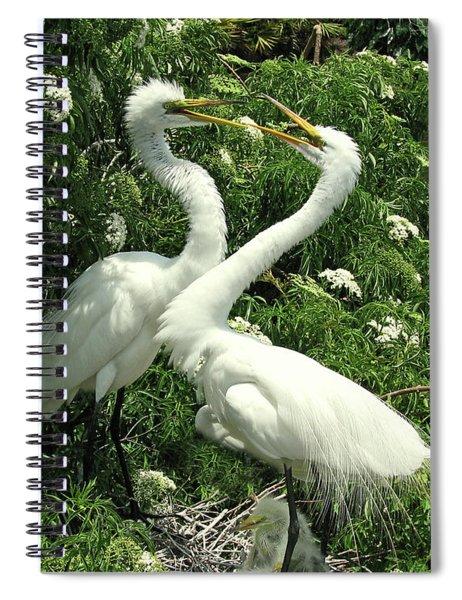 Joyful Reunion Spiral Notebook