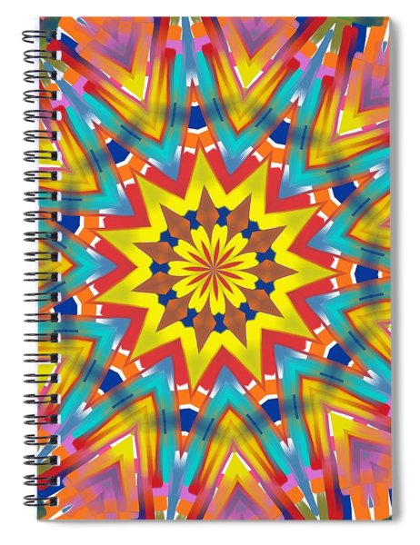 Kaleidoscope Series Number 7 Spiral Notebook
