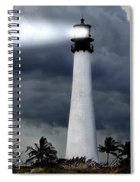 Key Biscayne Lighthouse Spiral Notebook