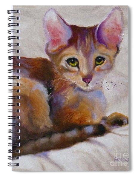 Kitten Princess Spiral Notebook