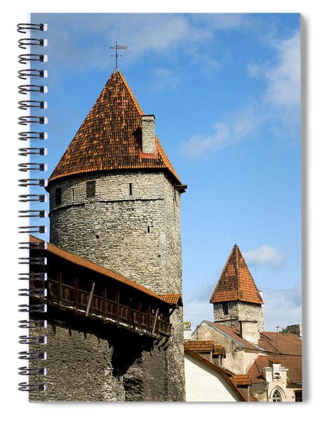 Kuldjalg And Nunnadetangune Spiral Notebook
