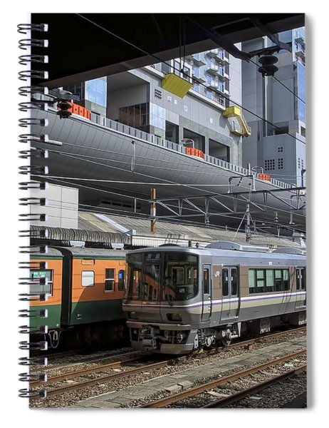 Kyoto Main Train Station - Japan Spiral Notebook