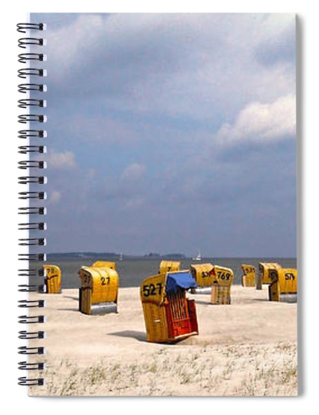 Laboe Beach ... Spiral Notebook