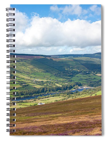 Lake In Wicklow Valley Spiral Notebook