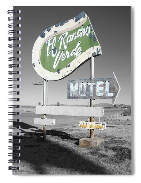 Last Chance Motel Spiral Notebook