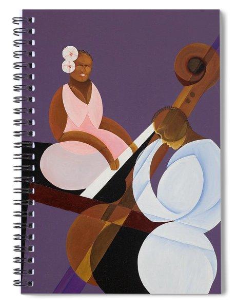 Lavender Jazz Spiral Notebook