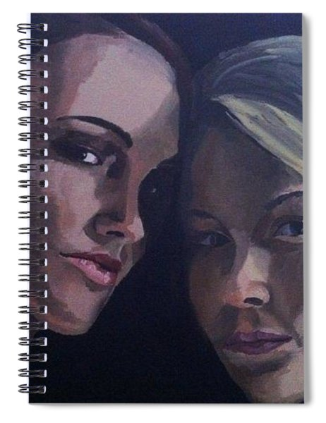 Leah And Tiffany Spiral Notebook