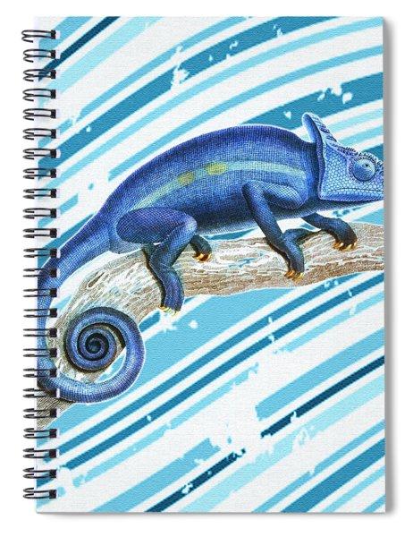 Leo Loves Lizards Spiral Notebook
