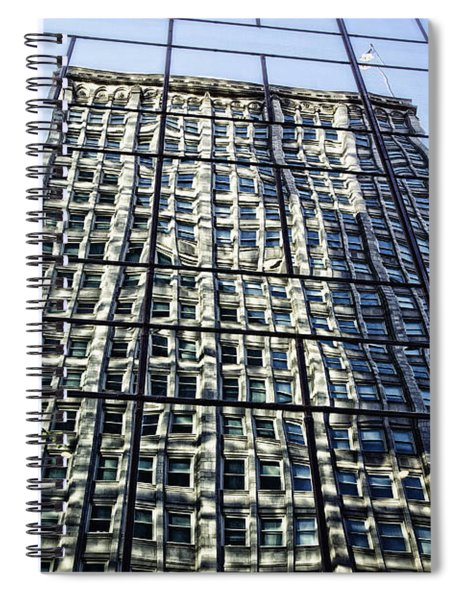 Life On The 32nd Floor Spiral Notebook