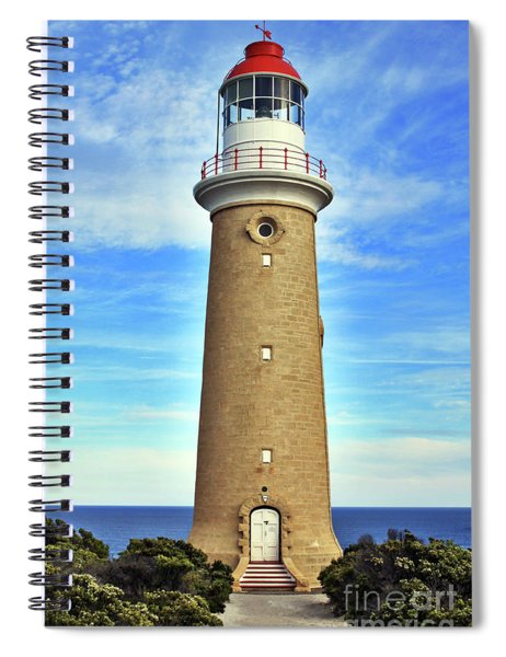 Light House At Cape Du Couedic Spiral Notebook