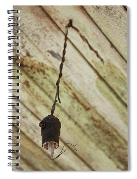 Lights Out Spiral Notebook