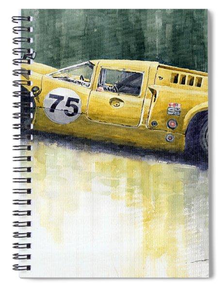 Lola T70 Spiral Notebook