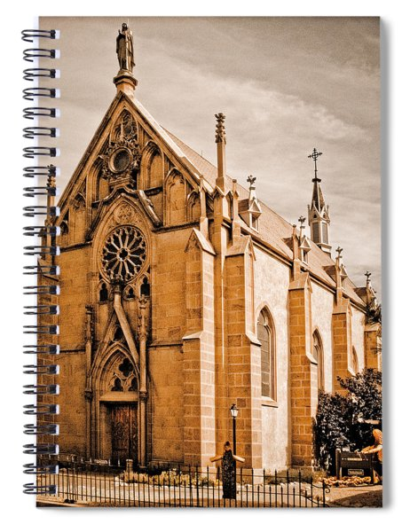 Loretto Chapel Spiral Notebook