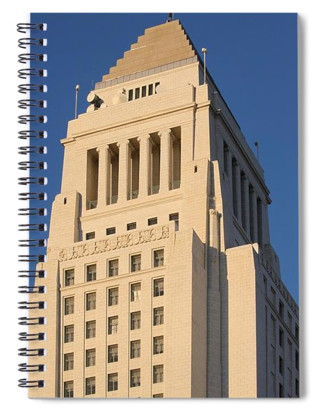 Los Angeles City Hall Spiral Notebook