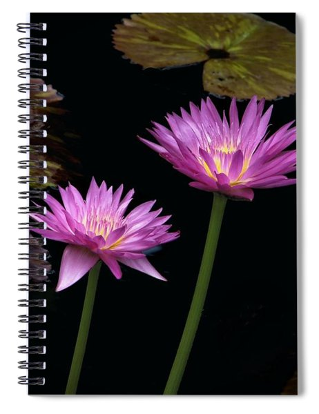 Lotus Water Lilies Spiral Notebook