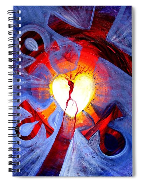 Love - In Three ... For All Spiral Notebook