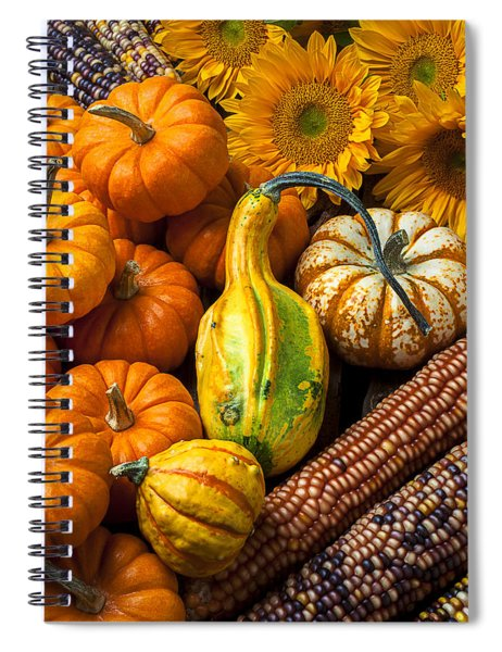 Lovely Autumn Spiral Notebook