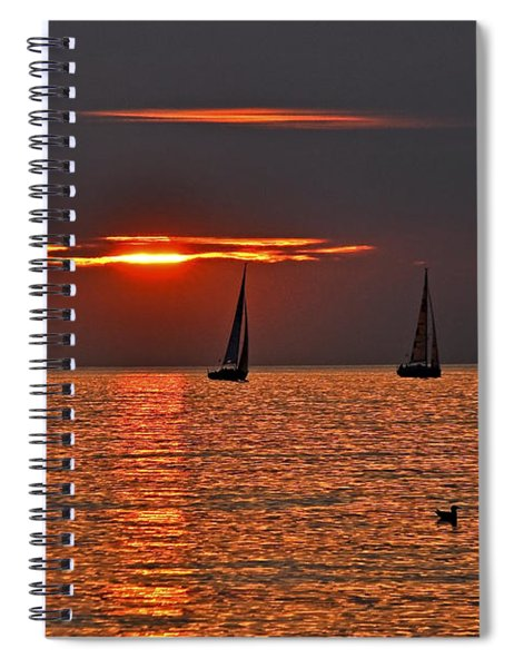 Coral Maritime Dream Spiral Notebook