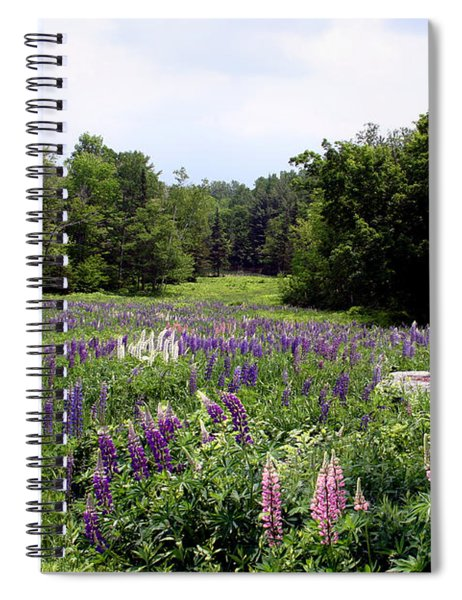 Lupine Vale Spiral Notebook