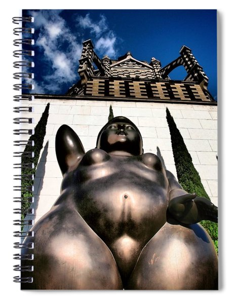 Spiral Notebook featuring the photograph Magdalene by Skip Hunt