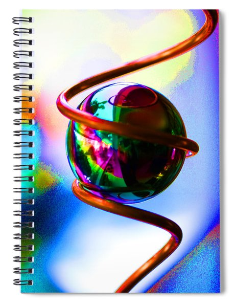 Magical Sphere Spiral Notebook