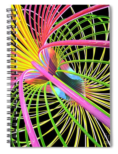 Magnetism 4 Spiral Notebook