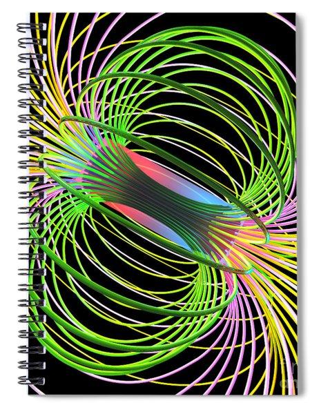 Magnetism 5 Spiral Notebook