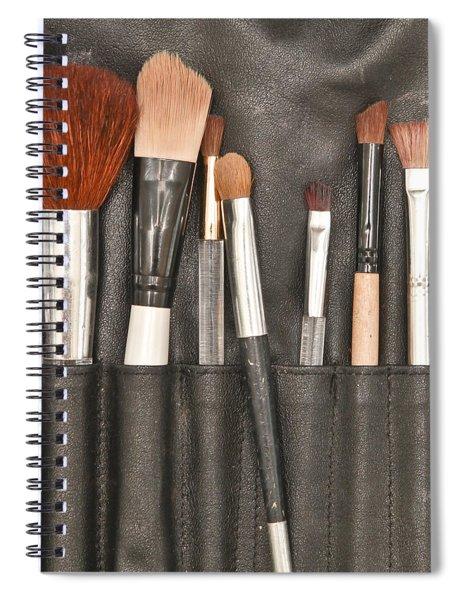 Make Up Brushes Spiral Notebook