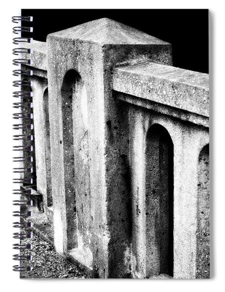 Mary Street Bridge Bristol Virginia Spiral Notebook