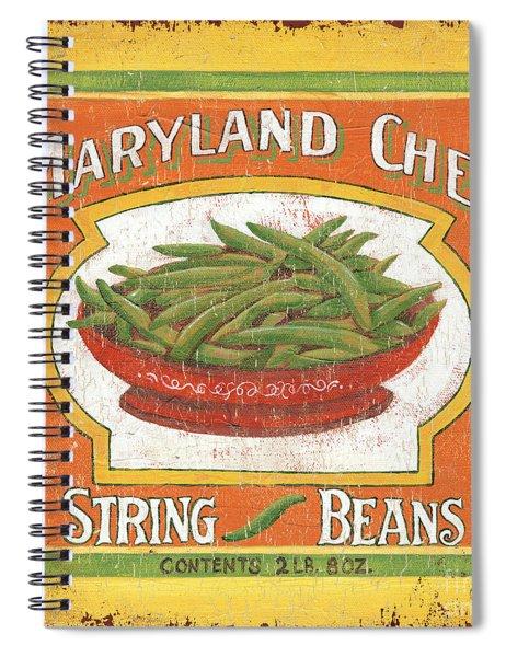 Maryland Chef Beans Spiral Notebook