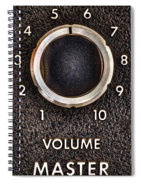 Master Volume Spiral Notebook