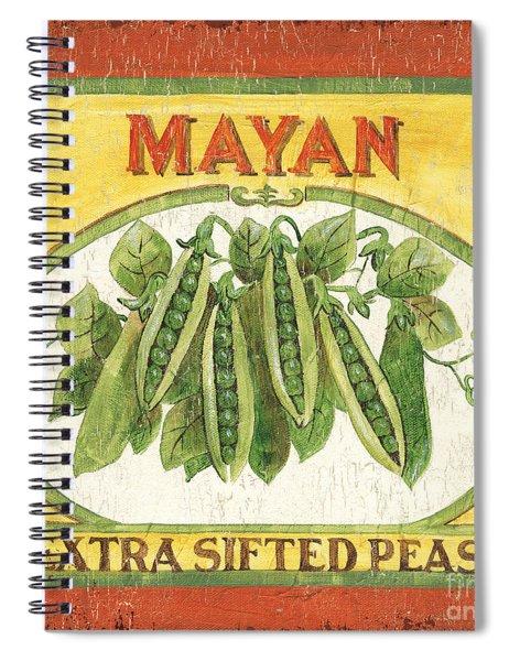 Mayan Peas Spiral Notebook