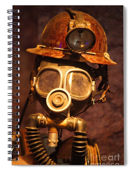 Mining Man Spiral Notebook