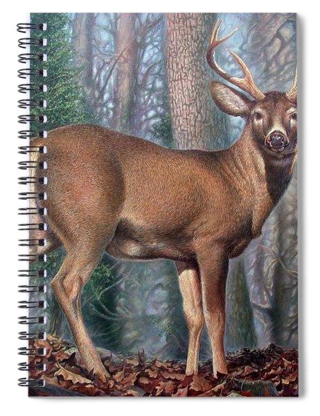 Missouri Whitetail Deer Spiral Notebook