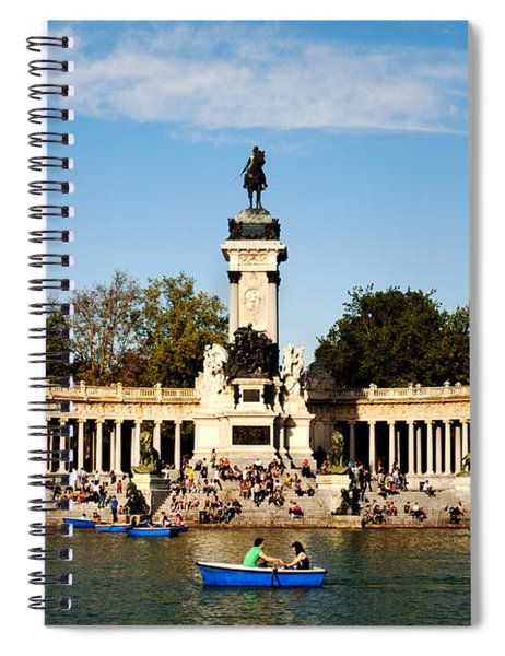 Monument To Alfonso Xii Spiral Notebook