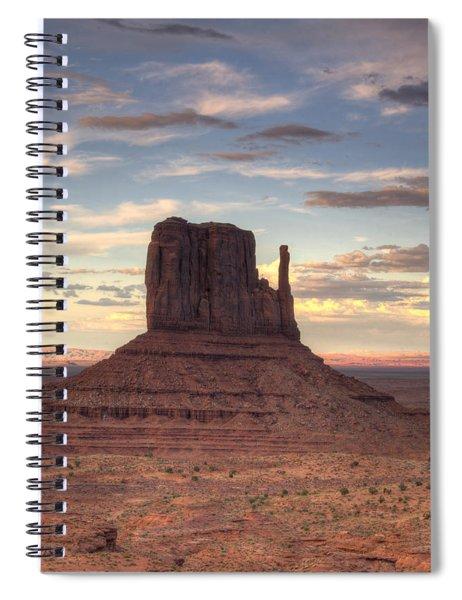 Monument Valley - West Mitten Butte Spiral Notebook