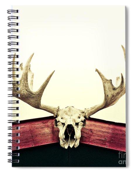 Moose Trophy Spiral Notebook