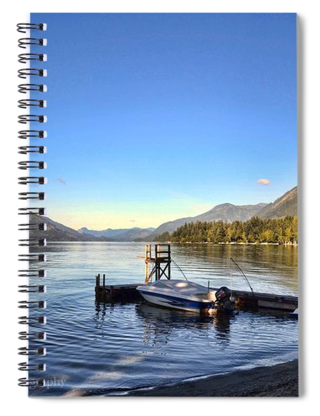 Mornings In British Columbia Spiral Notebook