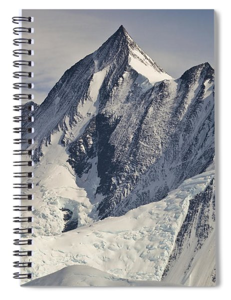 Mount Herschel Above Cape Hallett Spiral Notebook