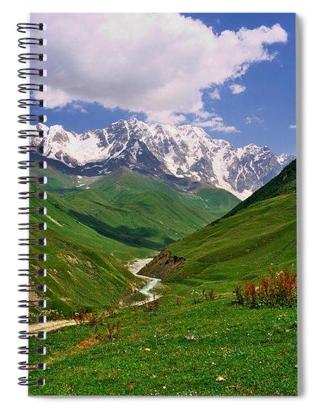 Mountain Valley Spiral Notebook