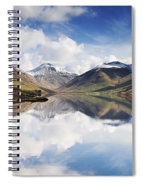 Mountains And Lake, Lake District Spiral Notebook